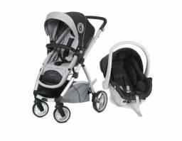 Carrinho de bebê + bebê conforto Travel System Maly Dzieco