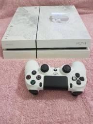 Ps4 Branco Edição Especial Destiny Tema Personalizado Modelo CUH-1215A