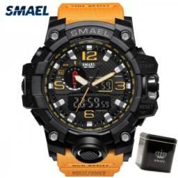 Relógios Masculinos Smael S Choque Vários Modelos + [Brinde]