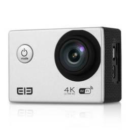 Câmera de Ação 4K Ultra Hd Wi-Fi - Silver