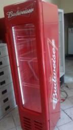 Cervejeira Vertical Budweiser Slim Retrô