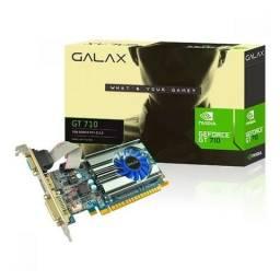 Placa de Vídeo Galax GeForce GT 710 1Gb DDR3 - Loja Fgtec Informática