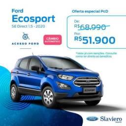 Ford Ecosport SE Direct 1.5 AT 2020 0KM - Desc. para Isenção Impostos IPI/ICMS - 2019