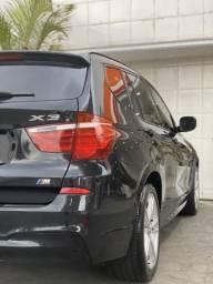BMW X3 versão M Sport Blindada 2014 teto - 2014