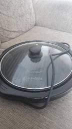 Grill elétrico redondo Mondial
