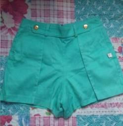 Shortinho verde