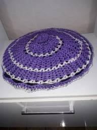 4 peças de crochê 15 cada