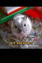 Mix natural para roedores