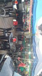 Banca de pastel feira livre jd Curitiba