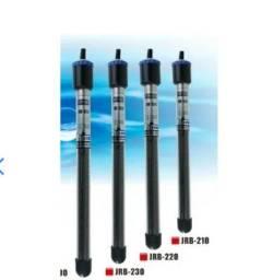 Termostato automático 300W Aquário até 300 litros - sistema antiexplosão + termômetro