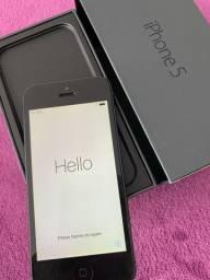 Iphone 5 16gb Preto Em perfeito funcionamento e estado de conservação