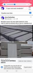 TELHAS FIBROCIMENTO 2,44X1,10X5M