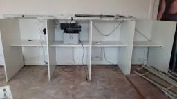 Mesas para escritório ou telemarketing