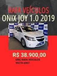ONIX JOY 1.0 2019 R$ 38.900,00 ENTRADA R$ 1.000,00 ERIC RAFA VEICULOS O