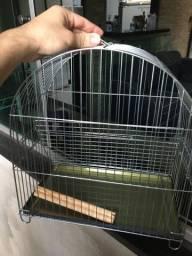 Gaiola de arame zincado para pássaros