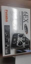 Rádio Aeromodelo Futaba 6ex Novo na caixa