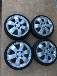 Rodas 15 Montana Sport com pneus novos 165/40/15