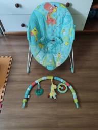 Cadeirinha Bebê Vibra Descanso Joy Kiddo Verde