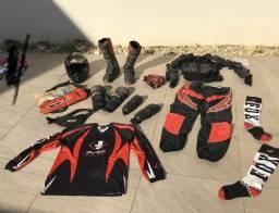 Conjunto completo motocross