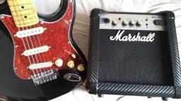 Tagima Tunada + Amp Marshall - Aceito propostas
