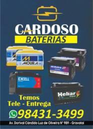 Baterias automotiva novas