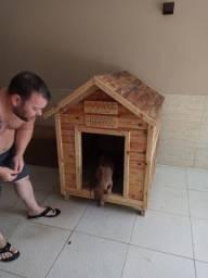 Faço casinha de cachorro de pallet por encomenda