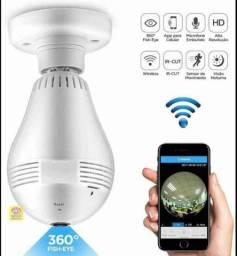 Camera Lampada Wi-Fi de segurança Hd 360°