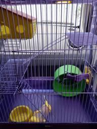Vendo gaiola para hamsters