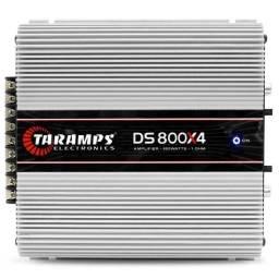 Módulo Amplificador Taramps DS 800X4 800W RMS 4 Canais 2 Ohms - Caruaru (PE)