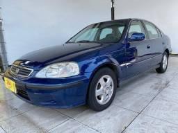 Honda Civic LX 1.6! Ano 2000 !Ótimo Estado !