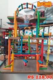 Playground para Calopsitas (Parquinho)