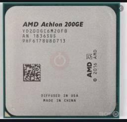 Processador novo Athlon 200 GE para placas am4