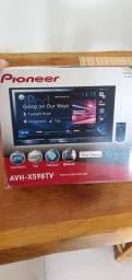 Pionner avh-x598tv DVD player com rds