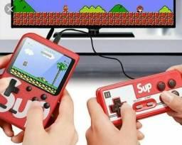 Mini Game boy Portátil SUP - Game Box 400 jogos