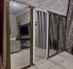 Espelhos Grandes NOVOS ( Molduras Trabalhadas ) Em Madeira