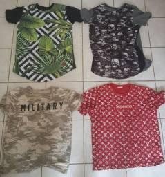 Camisas semi-novas
