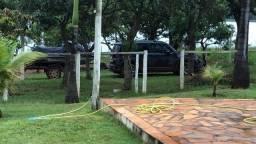 Vende-se ou troca por caminhão um lindo rancho top em Abaeté