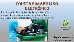 Reciclagem - Coleta de lixo eletrônico