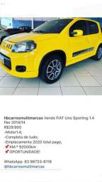 Fiat Uno SPORTING 1.4 R$29.990