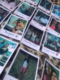 (um real) Fotos polaroids para decoração