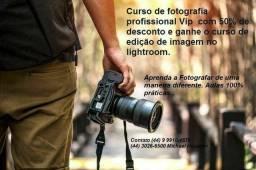 Curso de fotografia vip para iniciantes