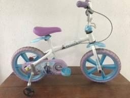 Bicicleta Infantil Frozen aro 14