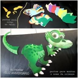 Dinossauros fazem a Festa R$120,00