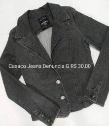Casaco Jeans Denuncia