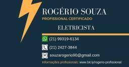 Eletricista predial de instalação e manutenção