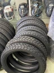 pneu traseiro para motos xre300 lander 120/80-18 remold entrega todo rio