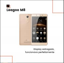 Celular Leagoo M8 - Display estragado