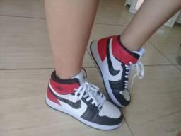 Bota Nike Jordan - Tênis cano alto