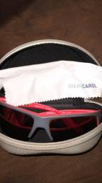 Óculos Sol Mormaii Gamboa Air III Cinza Lente Vermelho Espelhada