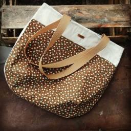 Bolsa artesanal para Dia das Mães